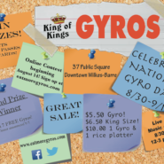 2015 National Gyro Day Giveaway & Event!