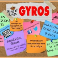 National Gyro Day Giveaway and Event!