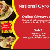 Celebrating National Gyro Day 2016 (Giveaway & More)